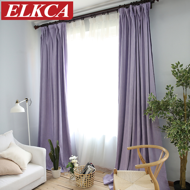 buy american solid color thick faux linen