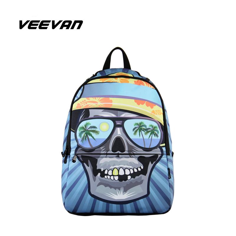 VN Men's Backpacks Designer School Bags Priting Children School Backpack Casual Daypacks Rucksacks Sport Camping Hiking Bag(China (Mainland))