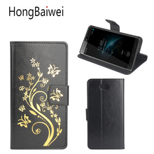 Buy HongBaiwei Homtom HT10 Case Luxury Brand Flower Henna Clear Flip Leather Wallet Phone Bag Case Homtom HT10 for $3.92 in AliExpress store