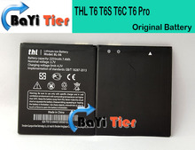 Official Original THL T6s Battery Newest Large Capacity BL-06 2250mAh Battery for THL T6S T6C T6 Pro Mobile Phone In Stock