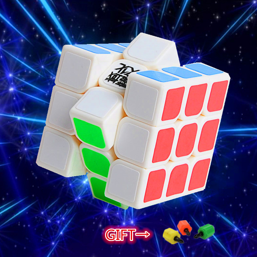 MoYu AoLong V2 3x3x3 Speed Cube Enhanced Edition 3x3x3 Magic Cube 57mm Educational Toy Special Toys Concept Edition Birthday(China (Mainland))