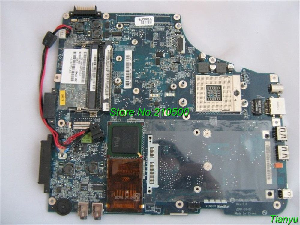 For Toshiba Satellite Series A200 K000051290 Laptop Motherboard,Best Quality With 55 Days Warranty(China (Mainland))