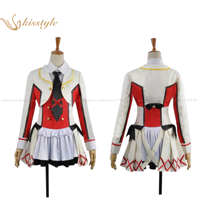 Kisstyle Fashion Love Live! School Idol Project Eli Ayase Clothing Cosplay Costume,Customized AcceptedОдежда и ак�е��уары<br><br><br>Aliexpress