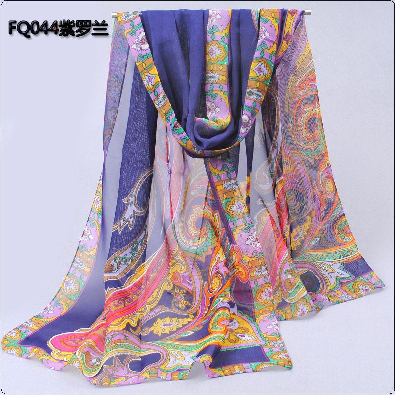 new 2014 fashion summer scarf chiffon silk scarf