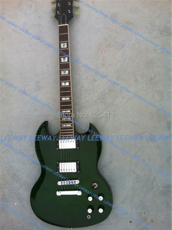 EMS electric guitar custom color support sg style - Leeway Guitar store