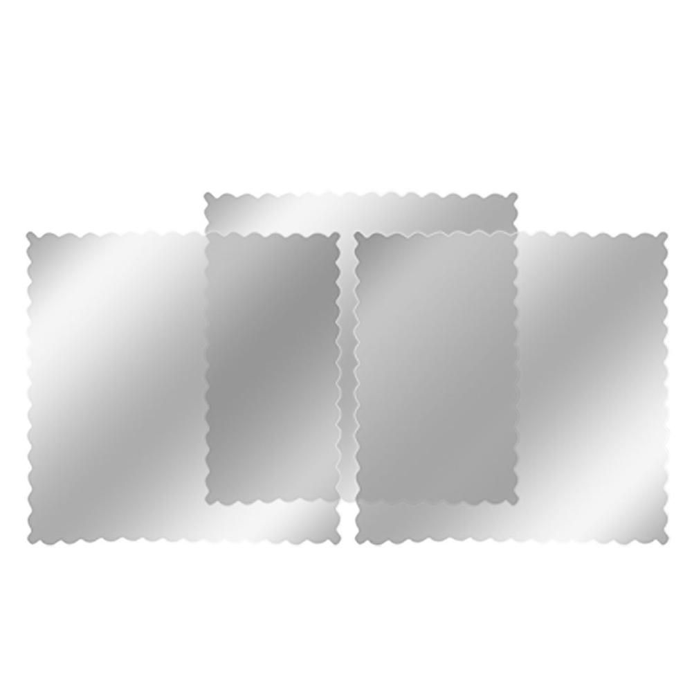 EDFY Amico 3 pcs Car Window Signal Clear Cling Static Sticker New