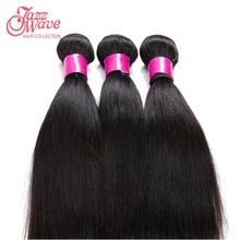 "Brazilian Virgin Hair Straight Coarse Yaki 3 Pieces/Lot Human Hair Weaves Italian Yaki 10""-30"" Natural Black Kinky Straight Hair(China (Mainland))"