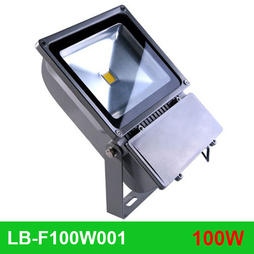 Фотография waterproof IP65 High Power 100W Led Floodlight Ultra Bright 9000LM 100w Led Outdoor wall wash Flood Light 100w led street light