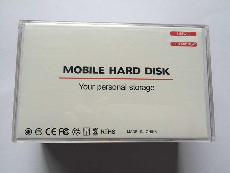 "HDD External Hard Drive 500GB 320GB 160GB 2.5"" Portable hard disk USB 2.0 hdd extern Mobile Hard Disk HDD Promotion 1tb 2tb(China (Mainland))"