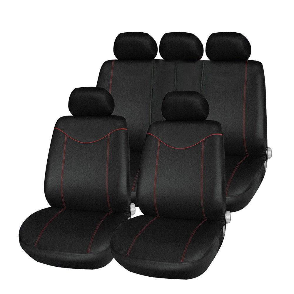 Newest Universal Car Seat Cover Set 11Pcs Seat Covers