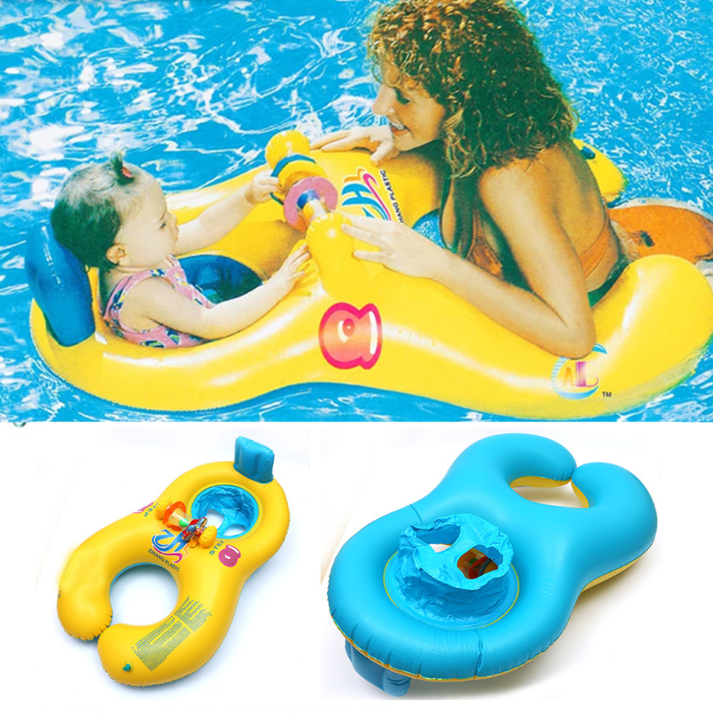 baby swimming neck ring New Arrival Baby Swimming Ring & Mother And Child Swimming Circle Double Swimming Rings(China (Mainland))