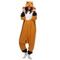 Fox Animal pajamas Adult sleep lounge Unisex Pajamas Kigurumi Cosplay Costume Animal Onesies Sleepwear