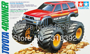 Tamiya 17009 1/32 Wild Mini 4WD Series No.10 Toyota 4Runner kit 1:32 Electric plastic car Free shipping wholesale hot sale  gift