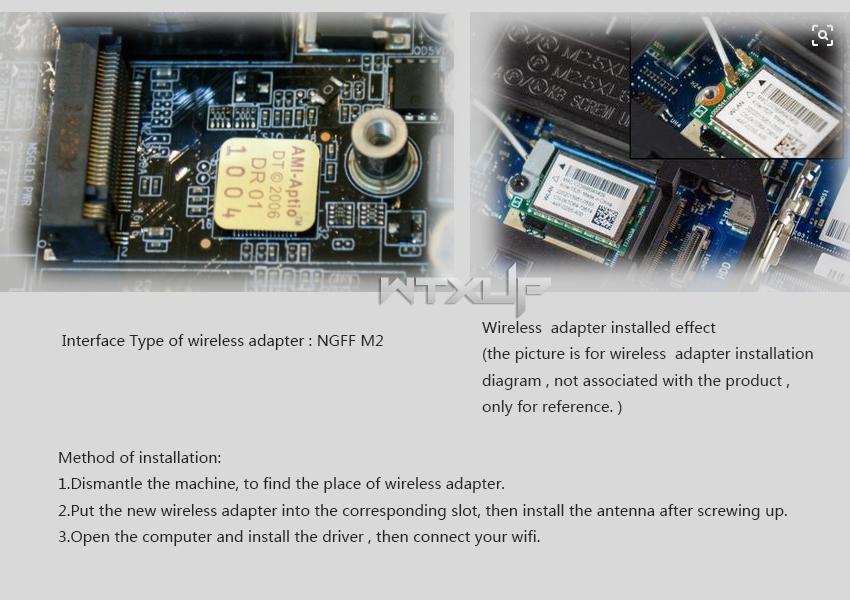 Wholesale WiFi Wireless Network Card BCM94352Z NGFF M.2 ...