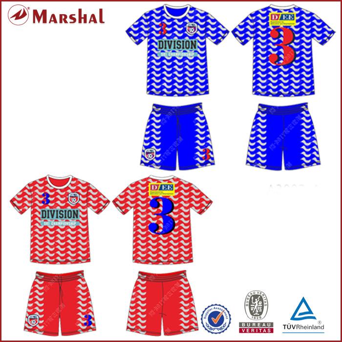Colorful Design soccer shirt,Custom team soccer jersey Club Designs soccer kits(China (Mainland))