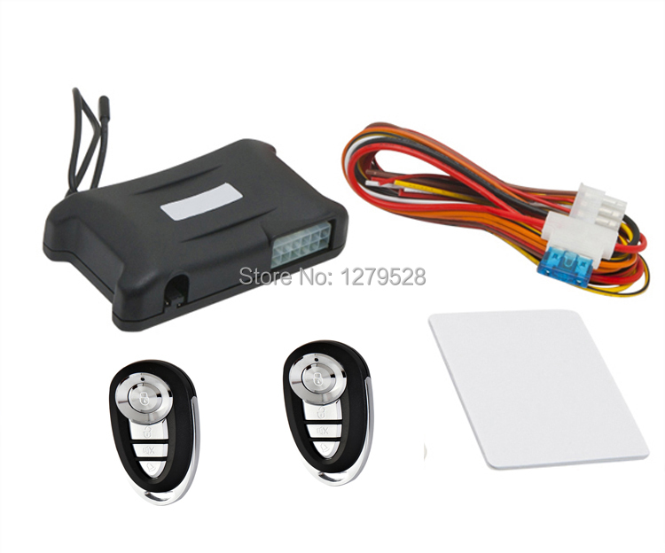 Universal Auto Keyless Entry Kid Window Rolling Up Function With Two Remote Controls CE certificate(China (Mainland))