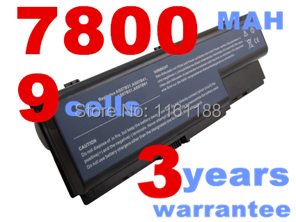 9cells Laptop Battery for Acer Aspire 5220 5230 5235 5300 5310 5315 5320 5330 5520 5520G 5530 5530G 5535 5710 5710G 5710Z 5710ZG(China (Mainland))