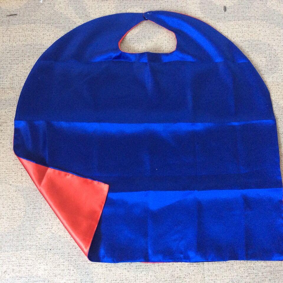 cheap red royal blue Kids Cape Birthday gift Custom Superhero Party Cape halloween cape(China (Mainland))