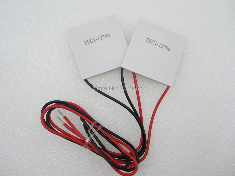 Free Shipping 1PCS/LOT TEC1-12706 12706 TEC Thermoelectric Cooler Peltier 12V New of semiconductor refrigeration TEC1-12706(China (Mainland))
