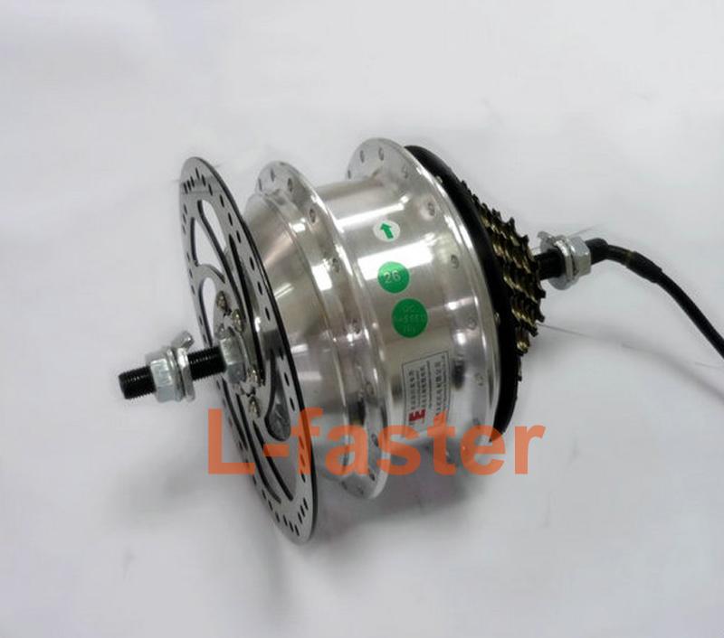36V 48V 250W Electric Bike Rear Wheel Hub Motor Electric Bicycle Brushless Hub Spokes Motor Electric Hub Motor Can With Flywheel(China (Mainland))