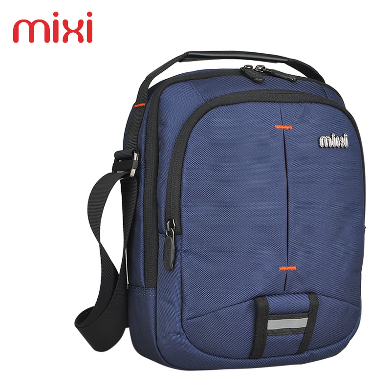 Mixi 2016 Fashion Vintage Small Waterproof Casual Handbag Men Messenger Bags Casual Mini Shoulder Bag Black Blue(China (Mainland))