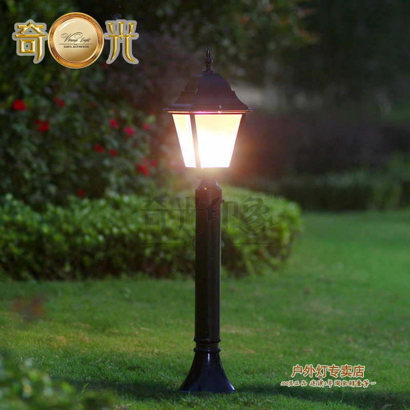 European community garden lights outdoor lights lawn lamp for Luminaire de jardin led