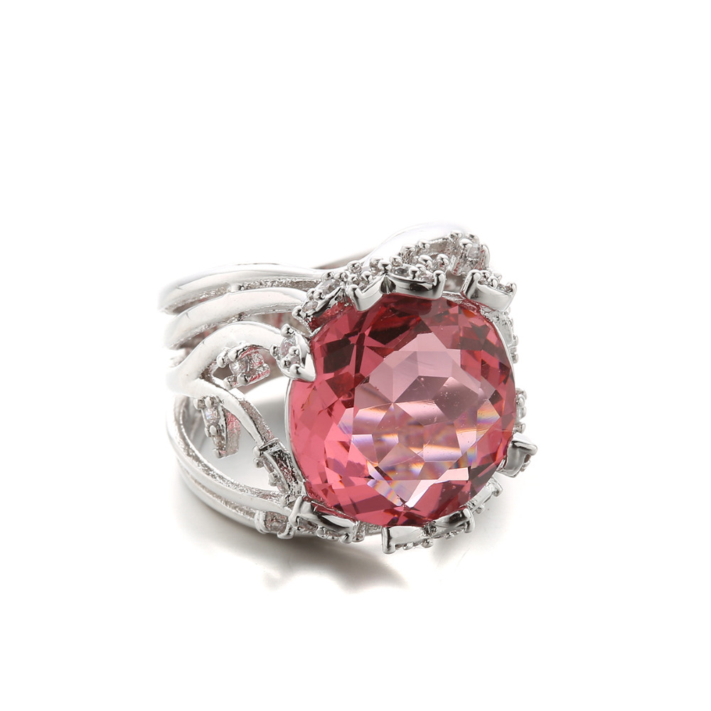 fashion big rings for jewelry 2015 plantium gold