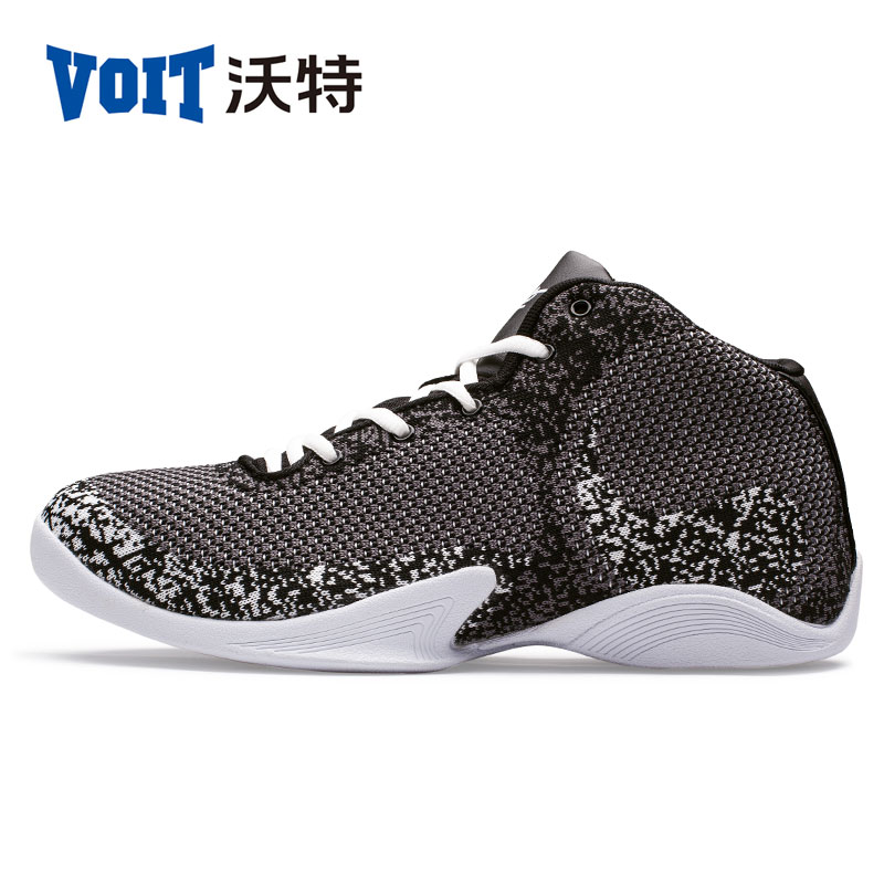 voit basketball shoes woven embroidered mens sneakers high