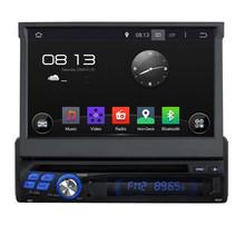 Cortex A9 Quad Core 1.6G CPU 16GB Flash Android 5.1.1 1 Din Universal Car DVD GPS Radio Player Navigation Stereo