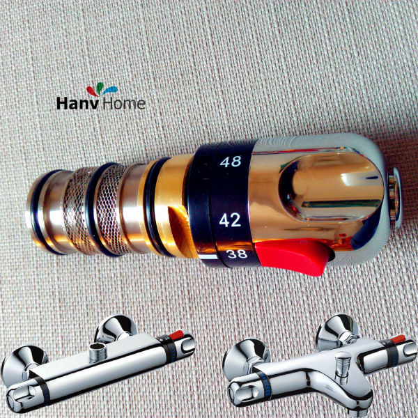 Adjust the Mixing Water Temperature Bath Shower Thermostatic Cartridge & Handle For Mixing Valve Mixer Repair(China (Mainland))