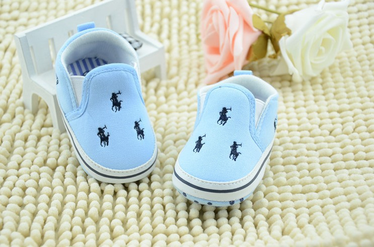 New baby toddler shoes infant shoes polo baby shoes soft