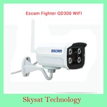 2015 Escam Fighter QD300 WIFI 1/4″ Progressive Scan CMOS OV9712 1.0 Megapixel HD Network Mini Wifi IR-Bullet Camera