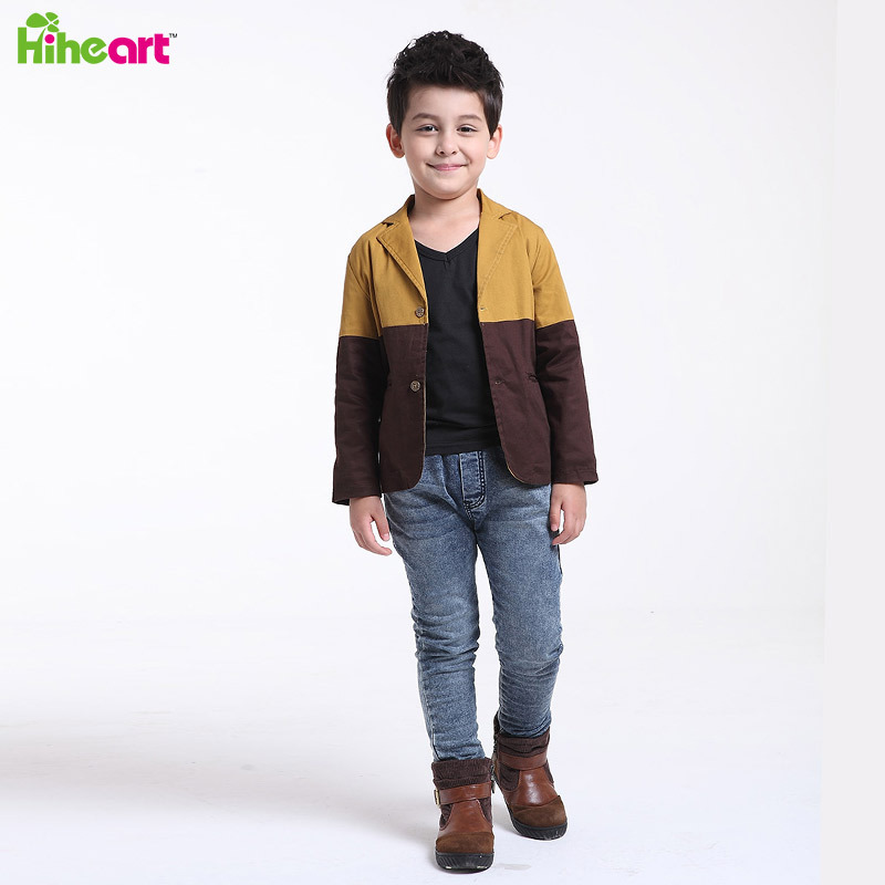 Aliexpress.com  Buy Blazers For Boys Top Fashion Casual Children Coat Brand Patch Color Boys ...