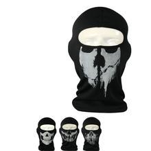 New Soft Motorcycle skull mask Ride skeleton caps Reflective Balaclava Hood Full Warm Neck Face Cycling Ski Windproof Masks
