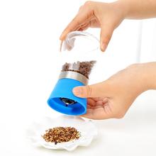Glass Pepper Mill Grinder Kitchen Accessories Cooking Tools Malt Mill Spice Salt Pepper Grinder 6*13cm Blue Green Mills Jar