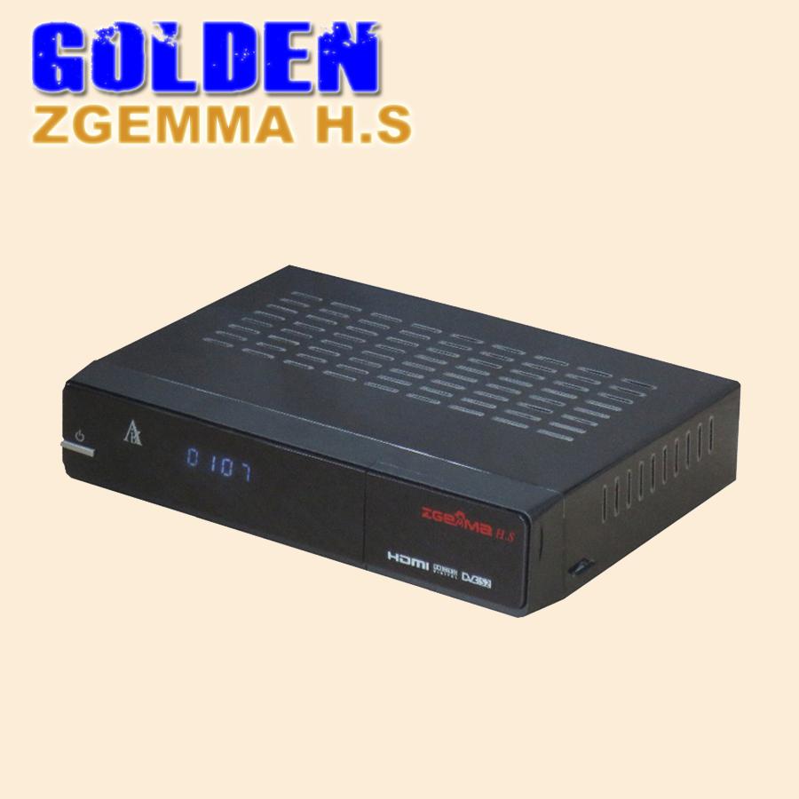 5pcs Original ZGEMMA H .S Enigma 2 Linux Single DVB-S2 Tuner Dual Core FTA Satellite Receiver support TF card(China (Mainland))