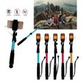 Wired Selfie Stick Cable Extendable Monopod Mirror Button for Camera Phone Multicolor TV049 54 SZ
