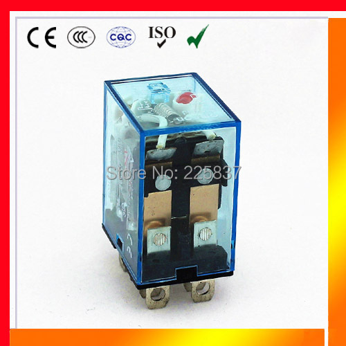 LY2N-J LY2NJ LY2 JQX-13F HH62P (5pcs/lot) high quality electromagnetic coil 12vdc 220v 24v 48v ac dc 10A micro relay(China (Mainland))