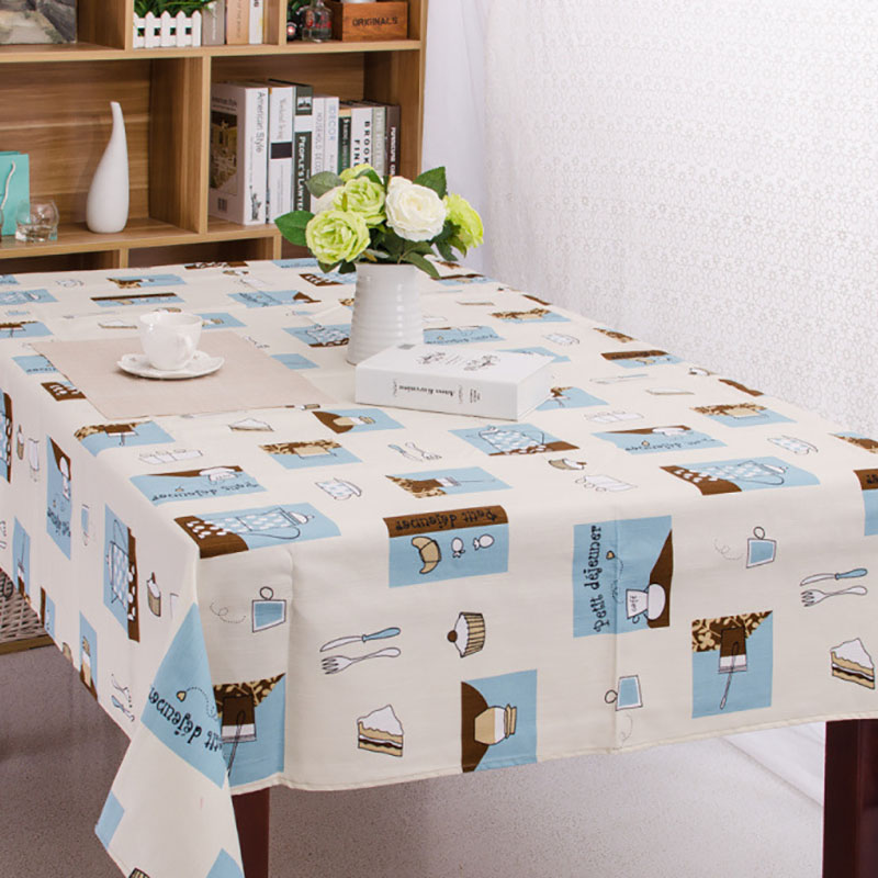 Cotton Tablecloth Korean Casual Cotton Drape Home/Outdoor/Party Size:90*90-140*220 Linen Cotton Table Cover Picnic Table Cloth(China (Mainland))