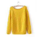 Women s Spring Autumn Winter Sweaters Brand New Casual Solid Knitting O Neck Shirt Fashion Long