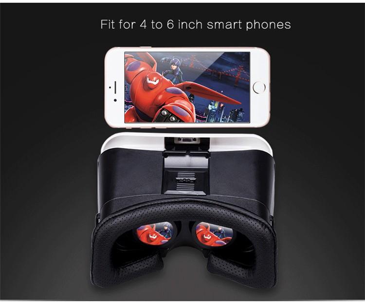 VR PARK V3 Virtual Reality 3D Glasses VR Gafas Head Mount for 4.0-6.0 inch For Smartphone