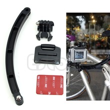 Free Shipping Helmet Extension Arm Mount High Quality Kit For Gopro Hero3 Accessory Motorcross