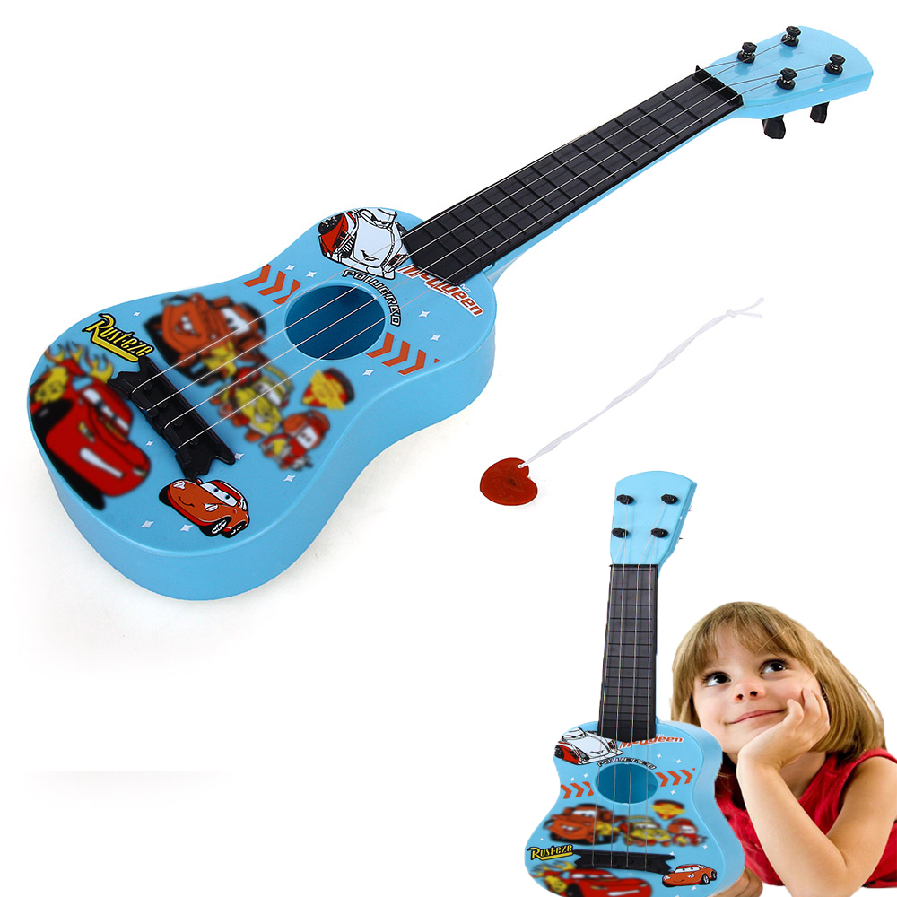 Гаджет  Children Kids 4 String Toy Mini Guitar Musical Instrument Plastic Steel Wire High Quality Free Shipping None Игрушки и Хобби