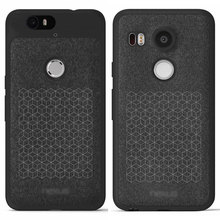 Nexus5X Nexus6P Original PU Leather Case For Google LG Nexus 5X Huawei Nexus 6P Official Phone Coque with TPU Silicon Back Cover(China (Mainland))
