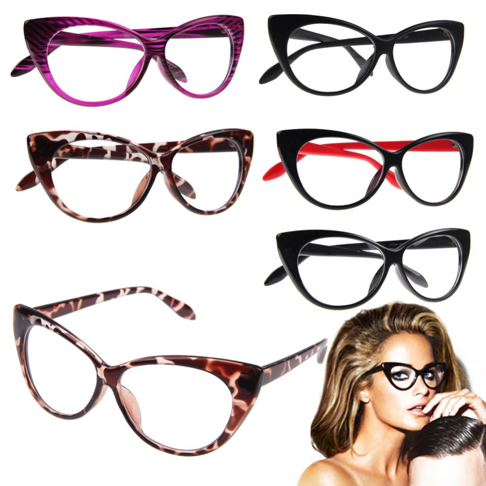 Girls Clear Lens Fashion Glasses Lady Girls Clear Glasses