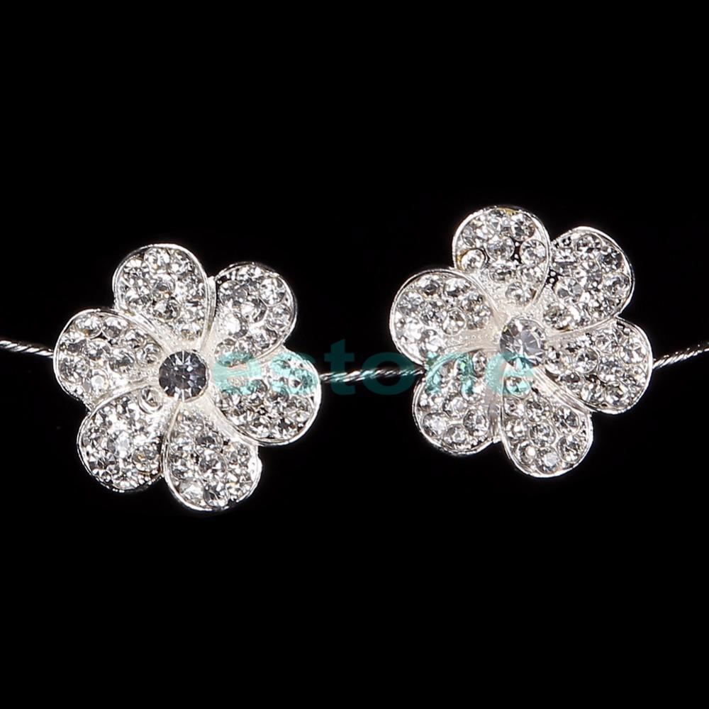 A40 free shipping1pc New Fashion Rhinestone Princess Flower Headband Hair Piece Wedding Bride Prom(China (Mainland))