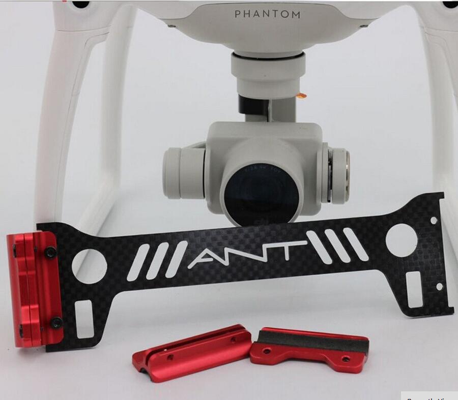 Phantom 4 Gimbal Guard Camera Protector Bracket 3K Carbon Fiber Board Landing Gear for DJI Phantom4 Quadcopter Accessory Part
