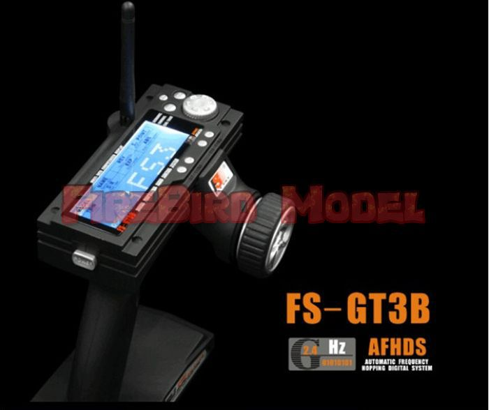Flysky Newest FS GT3B 2.4GHz 3CH Remote control transmitter+ receiver,Rc transmitter(China (Mainland))