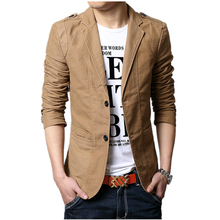 2014 Autumn New Men Blazer Fashion Slim casual blazer for Men Brand Mens suit Designer jacket outerwear men 3 colors M~XXXXXL