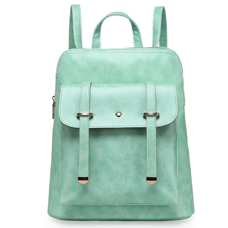 New arrival 2016 Luxury Backpack Leather Women Retro Traveling PU Backpack Vintage Women Large School Backpacks